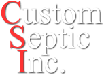 Custom Septic MN Logo